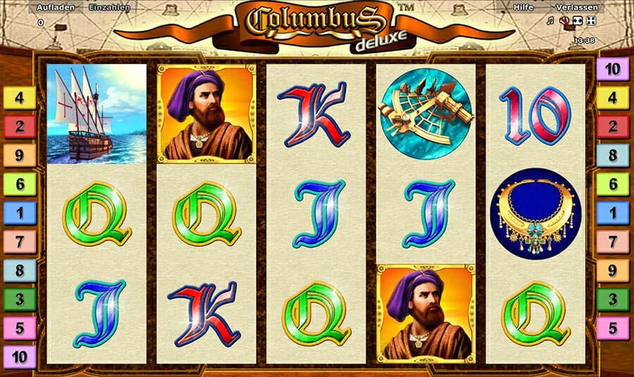 Columbus Novoline Kostenlos Spielen