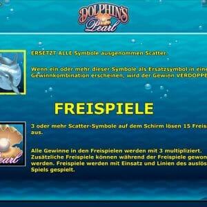 Novoline Dolphins Pearl Freispiele