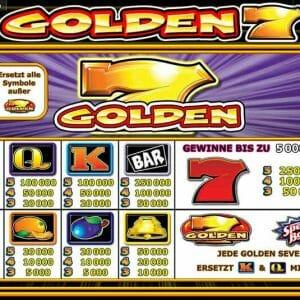 Novoline Golden 7 Gewinne
