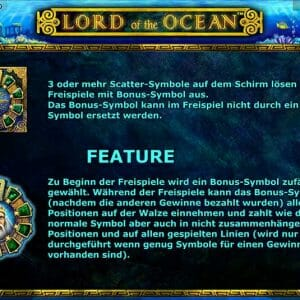 Novoline Lord Of The Ocean Bonus