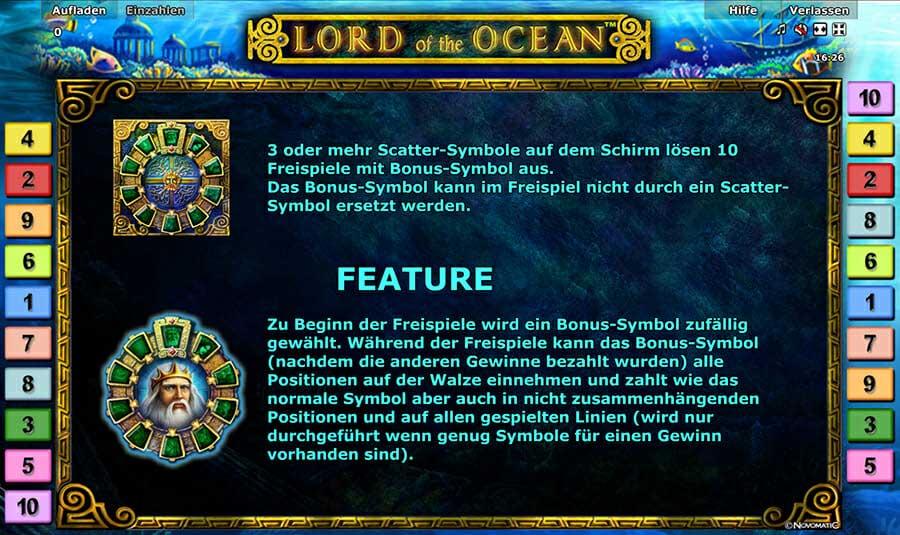 Novoline Kostenlos Spielen Lord Of Ocean
