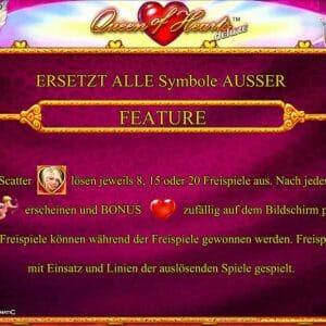 Novoline Queen Of Hearts Deluxe Feature