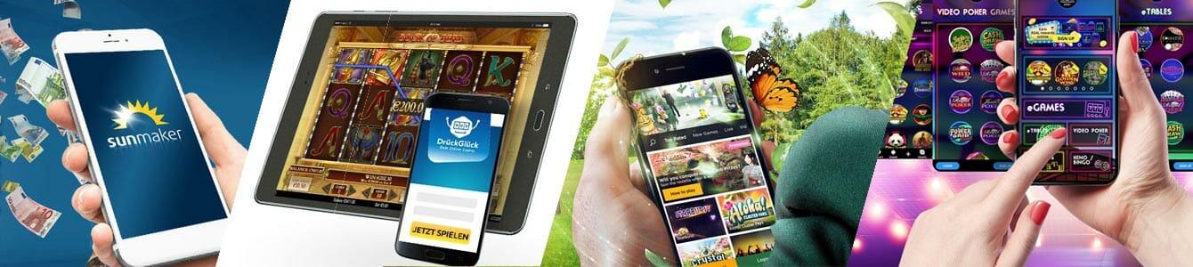 Mobile Spielautomaten Banner