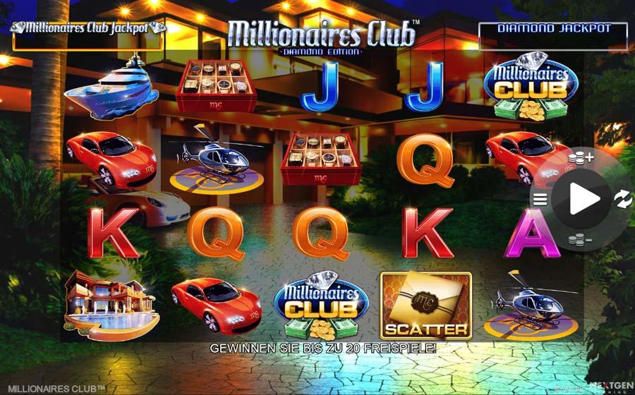 Amaya Millionaires Club Vorschau Slot