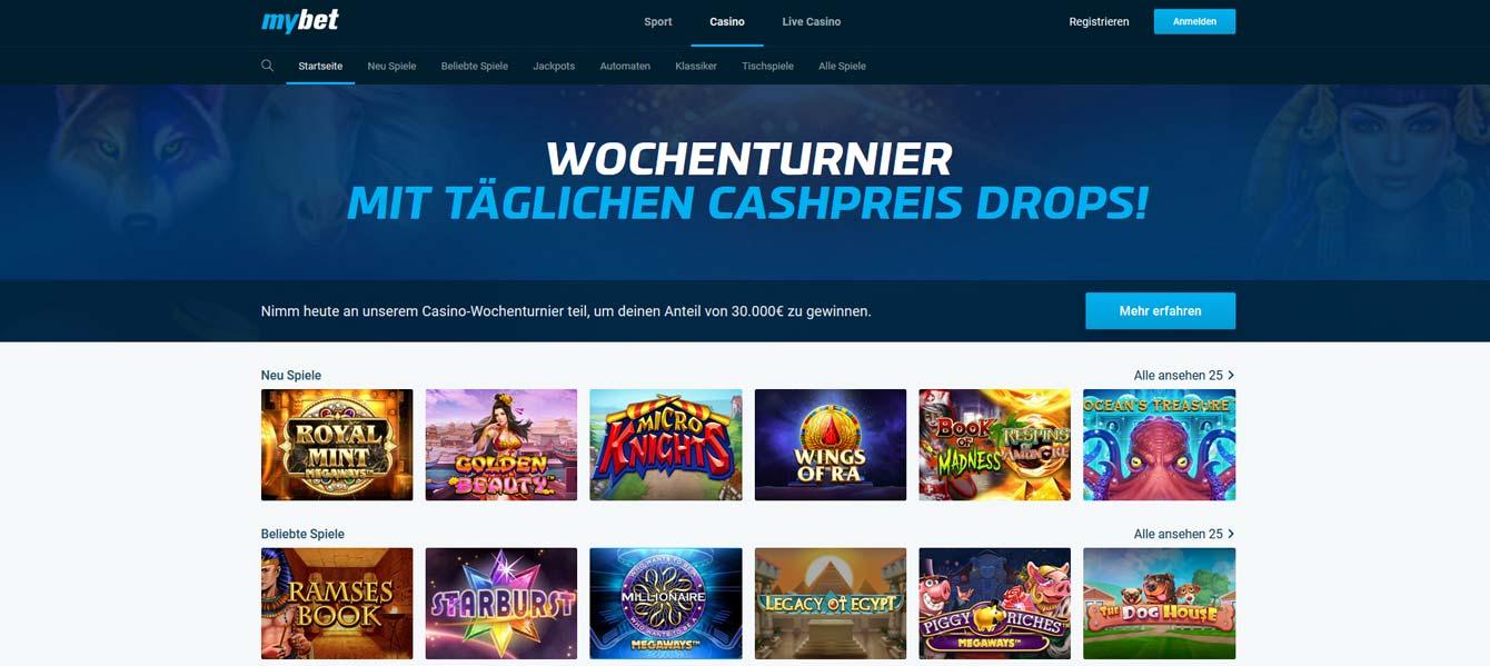 MyBet Casino Vorschau