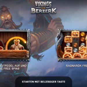 Vikings Go Berzerk Vorschau Features